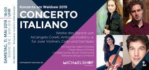 Ticket Waldseekonzerte am Michaelshof Sammatz - Concerto Italiano