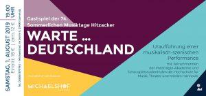 Ticket Waldseekonzerte am Michaelshof Sammatz - Sommerliche Musiktage Hitzacker - Warte ... Deutschland