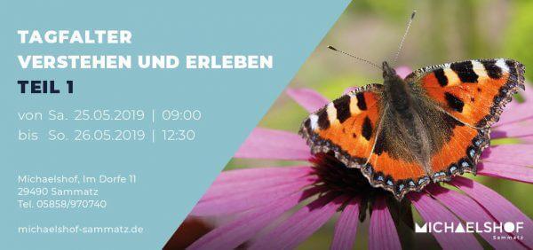Michaelshof Seminar Haus der Natur Seminar Tagfalter 1