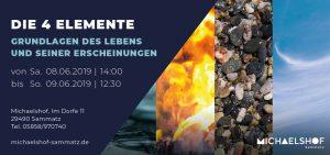 Michaelshof Seminar Haus der Natur Seminar Die vier Elemente