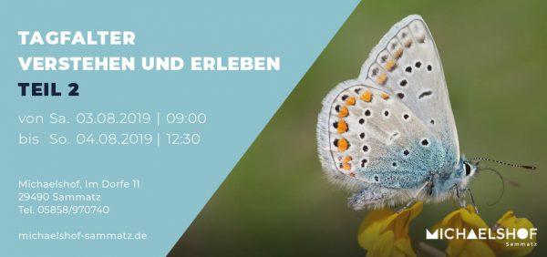 Michaelshof Seminar Haus der Natur Seminar Tagfalter 2