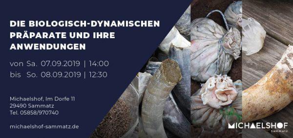 Michaelshof Seminar Haus der Natur Seminar die biologisch-dynamischen Präparate und ihre Anwendung