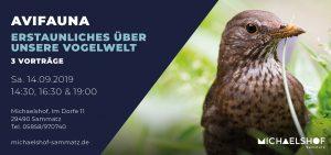 Michaelshof Seminar Haus der Natur Vorträge Avifauna - Erstaunliches über unsere Vogelwelt