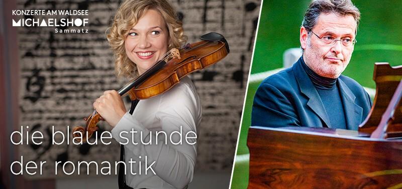 Michaelshof Sammatz Konzert am Waldsee - die blaue stunde der Romantik