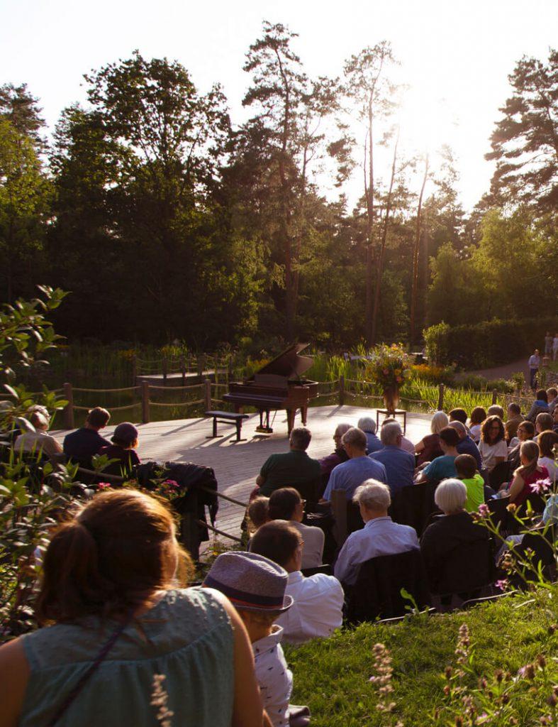 Konzerte am Waldsee Michaelshof Sammatz Saison 2019