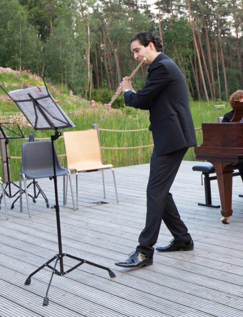 Konzerte am Waldsee Michaelshof Sammatz | Holzbläser-Soirée | Mathieu Guci-Ancelin