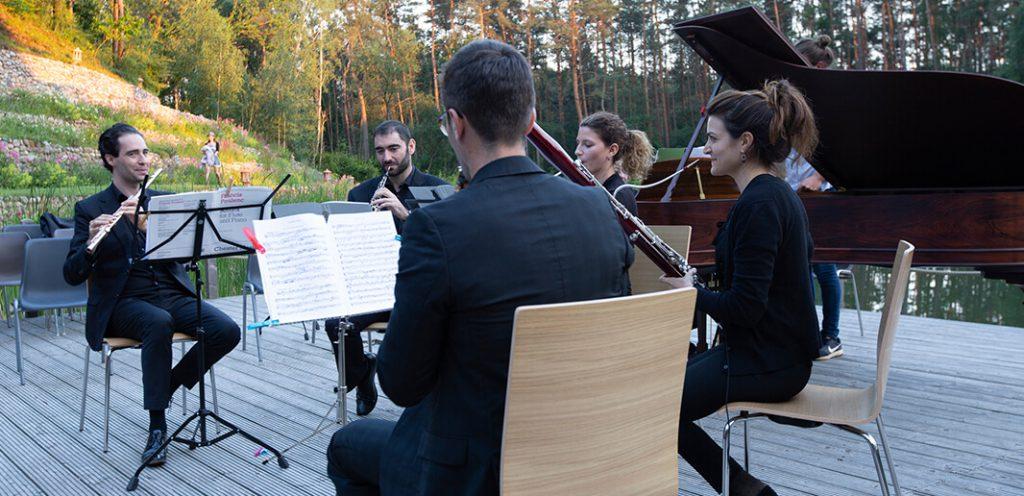 Konzerte am Waldsee Michaelshof Sammatz | Holzbläser-Soirée