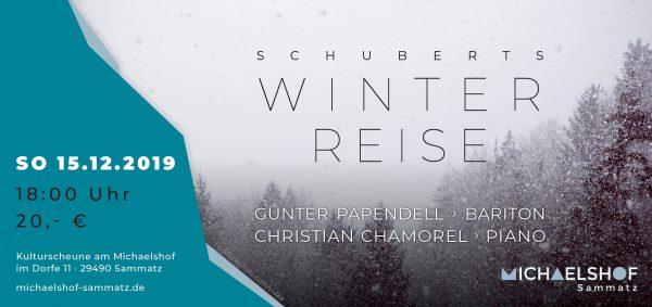 Michaelshof Sammatz | Konzertticket | Winterreise